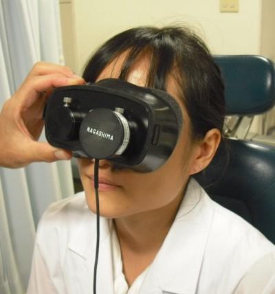 赤外線眼振画像TV装置
